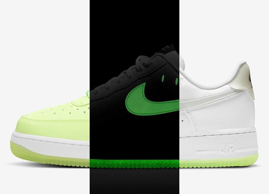 ナイキ エア フォース 1 ハブ ア ナイキ デー グロー イン ザ ダーク ホワイト Nike-Air-Force-1-Low-Have-A-Nike-Day-CT3228-100-CT3228-701