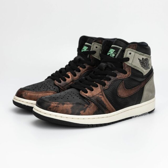 """ナイキ エア ジョーダン 1 レトロ ハイ OG """"フレッシュミント""""-Nike-Air-Jordan-1-Fresh-Mint-555088-033-main detail"""