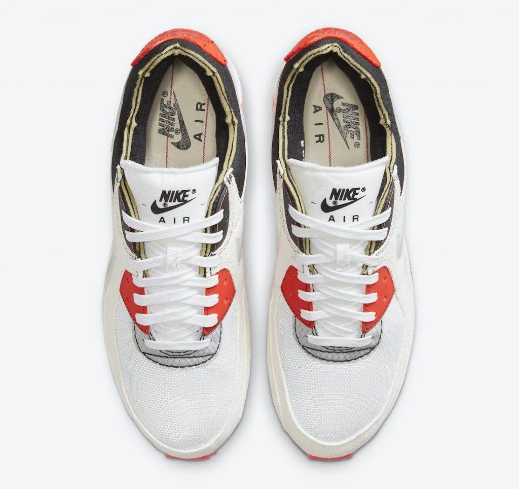 ナイキ エアマックス 3 プレミアム Nike-Air-Max-90-Archetype-DC7856-100-top
