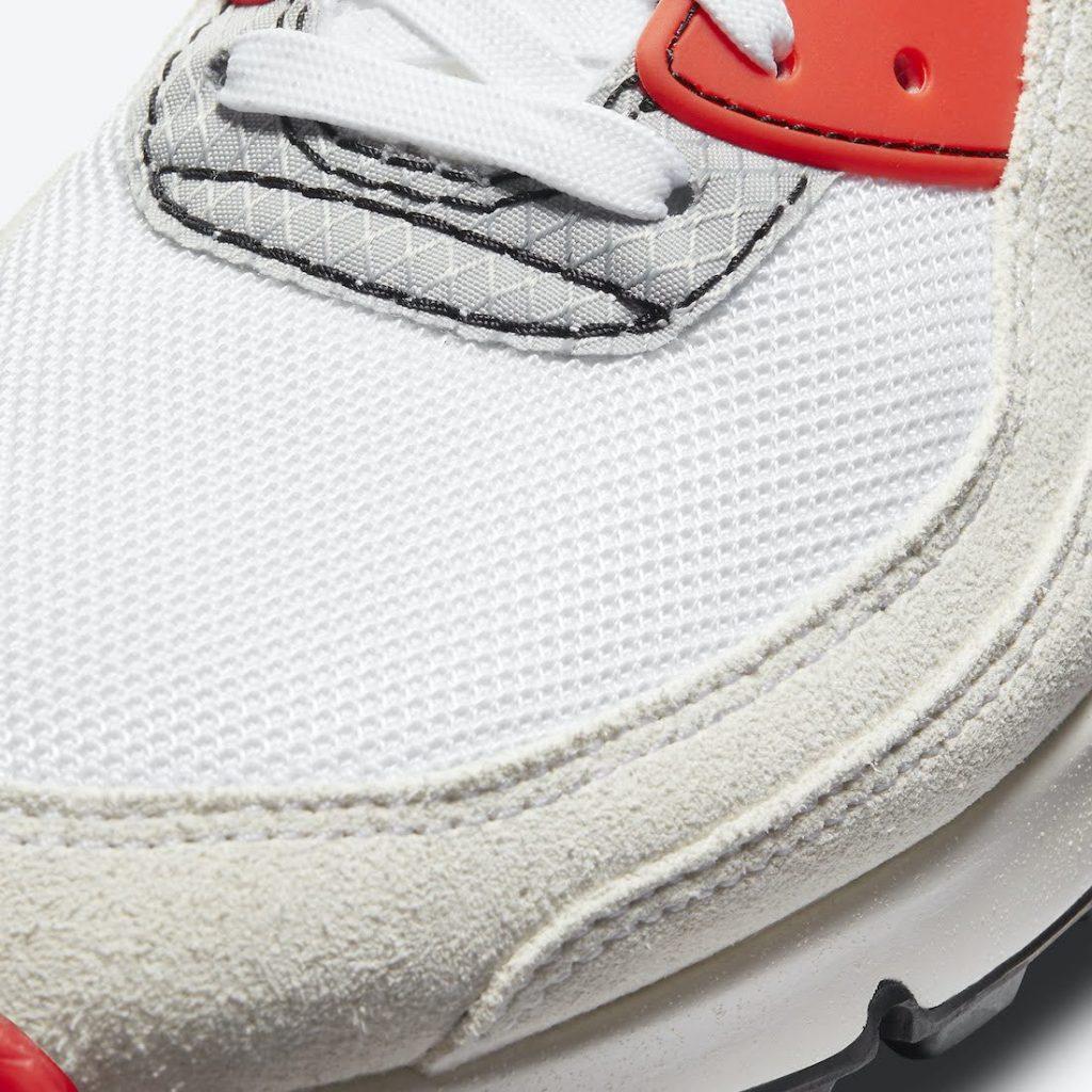 ナイキ エアマックス 3 プレミアム Nike-Air-Max-90-Archetype-DC7856-100-toe-closeup