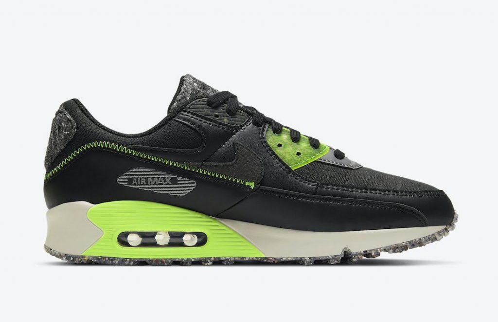 """ナイキ エア マックス 90 M2Z2 """"エレクトリックグリーン"""" Nike-Air-Max-90-M2Z2-Electric-Green-DD0383-001-side2"""