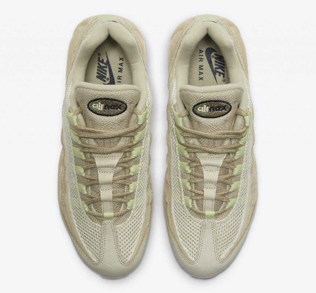 """ナイキ エア マックス 95 """"グレイン""""-Nike-Air-Max-95-PRM-Grain-Black-Beach-Coconut-Milk-DH4102-200-top"""