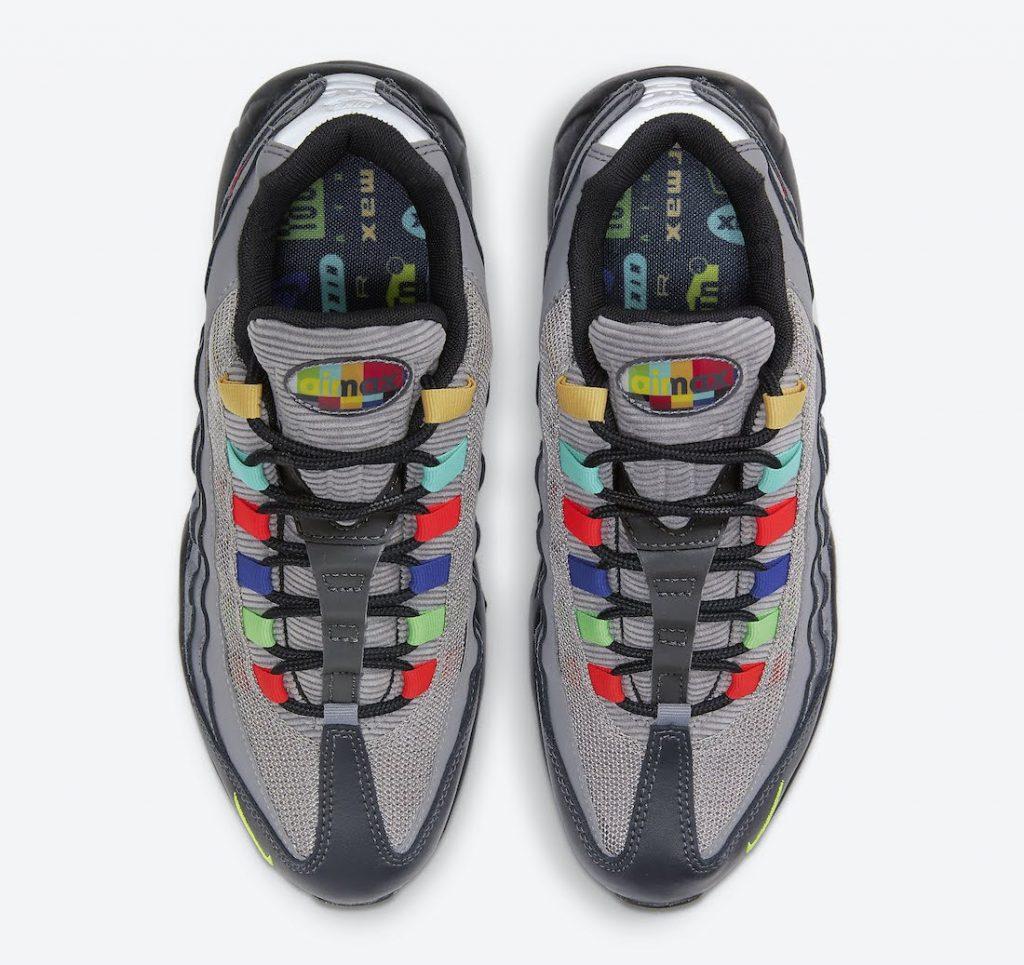 """ナイキ エア マックス 95 SE """"ライトチャコール""""-Nike-Air-Max-95-SE-Light-Charcoal-DD1502-001-top"""