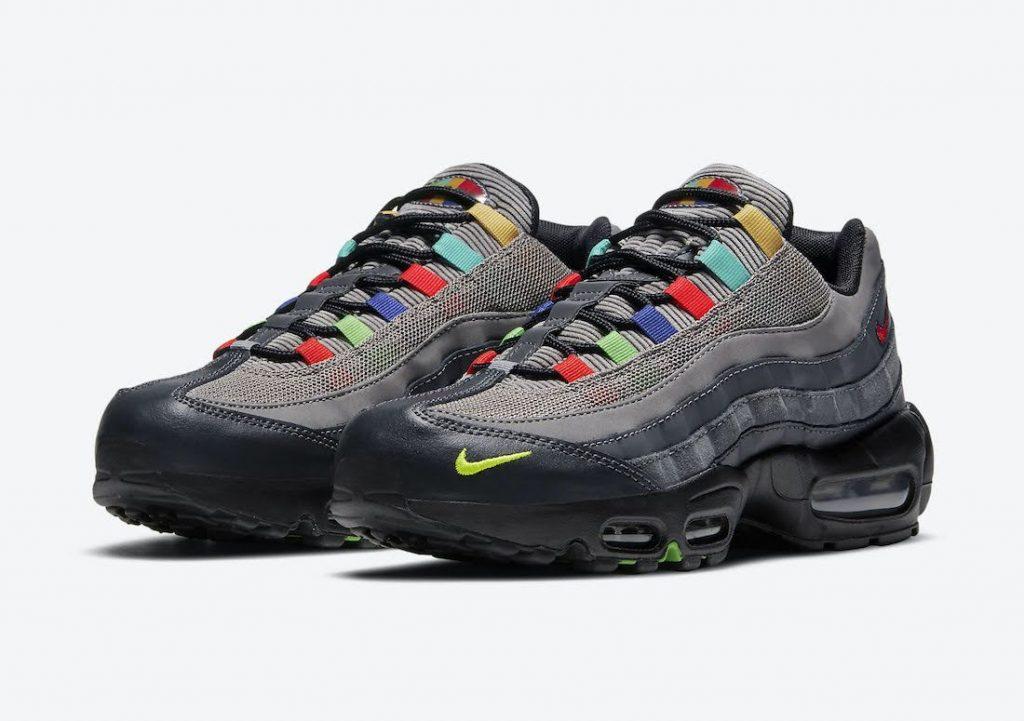 """ナイキ エア マックス 95 SE """"ライトチャコール""""-Nike-Air-Max-95-SE-Light-Charcoal-DD1502-001-pair"""