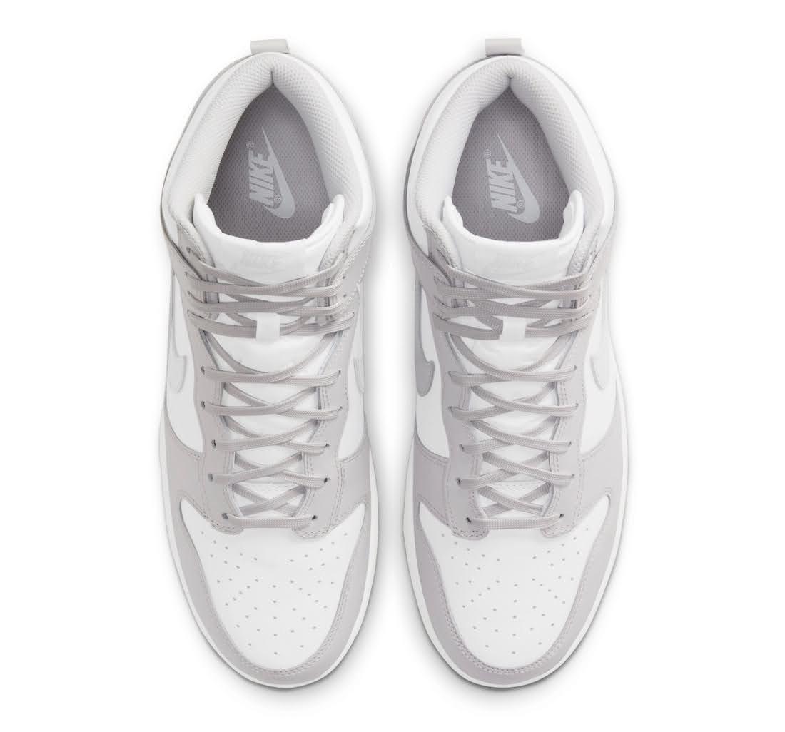 """ナイキ ダンク ハイ """"バスト グレー"""" Nike-Dunk-High-Vast-Grey-DD1399-100-top"""