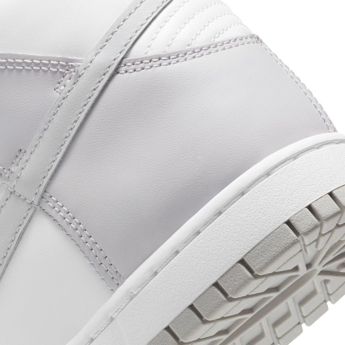 """ナイキ ダンク ハイ """"バスト グレー"""" Nike-Dunk-High-Vast-Grey-DD1399-100-heel-closeup"""