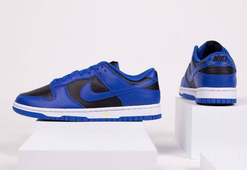 """ナイキ ダンク ロー """"ハイパー コバルト"""" Nike-Dunk-Low-Hyper-Cobalt-DD1391-001-pair-side-heel"""