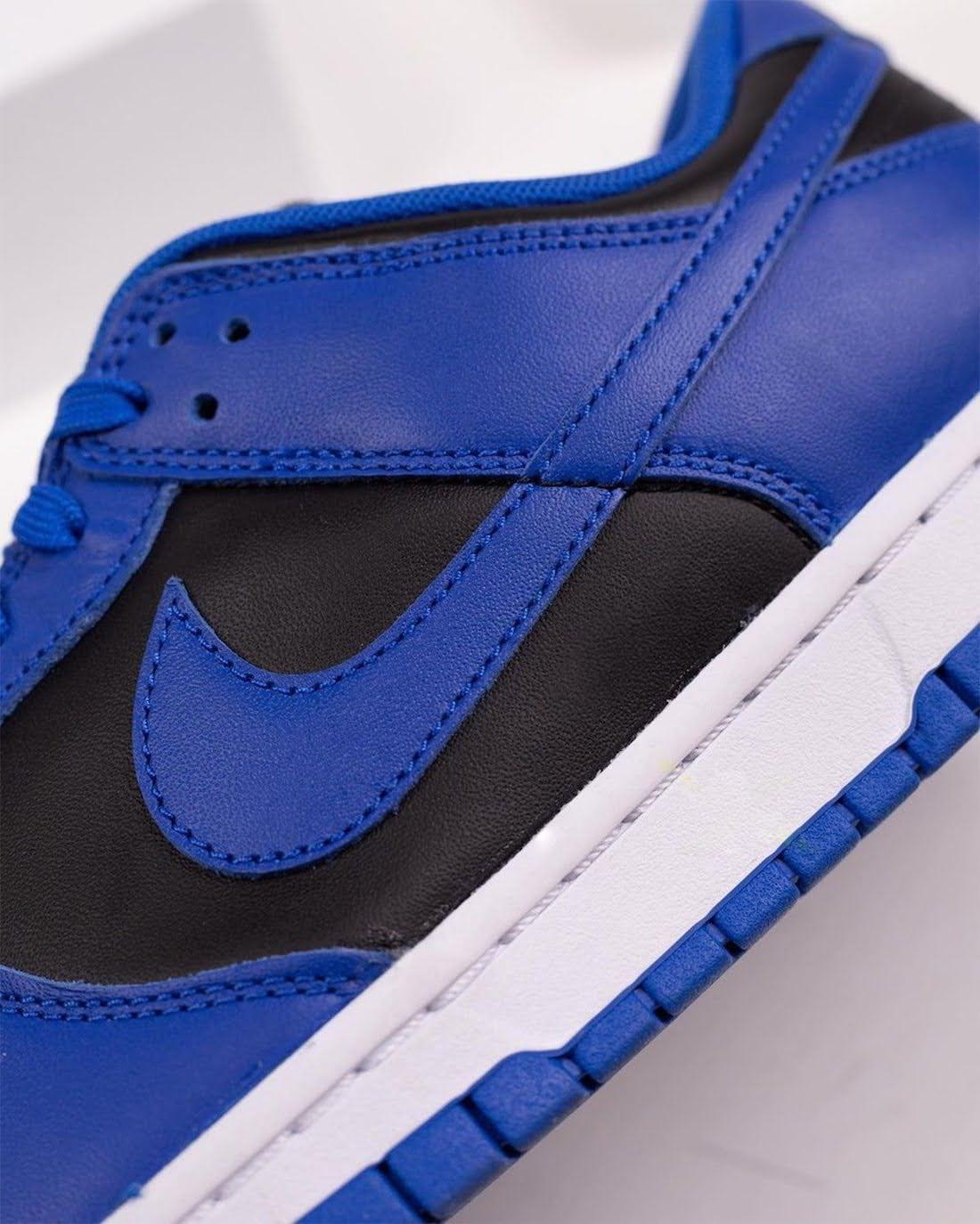 """ナイキ ダンク ロー """"ハイパー コバルト"""" Nike-Dunk-Low-Hyper-Cobalt-DD1391-001-side-logo-closeup"""