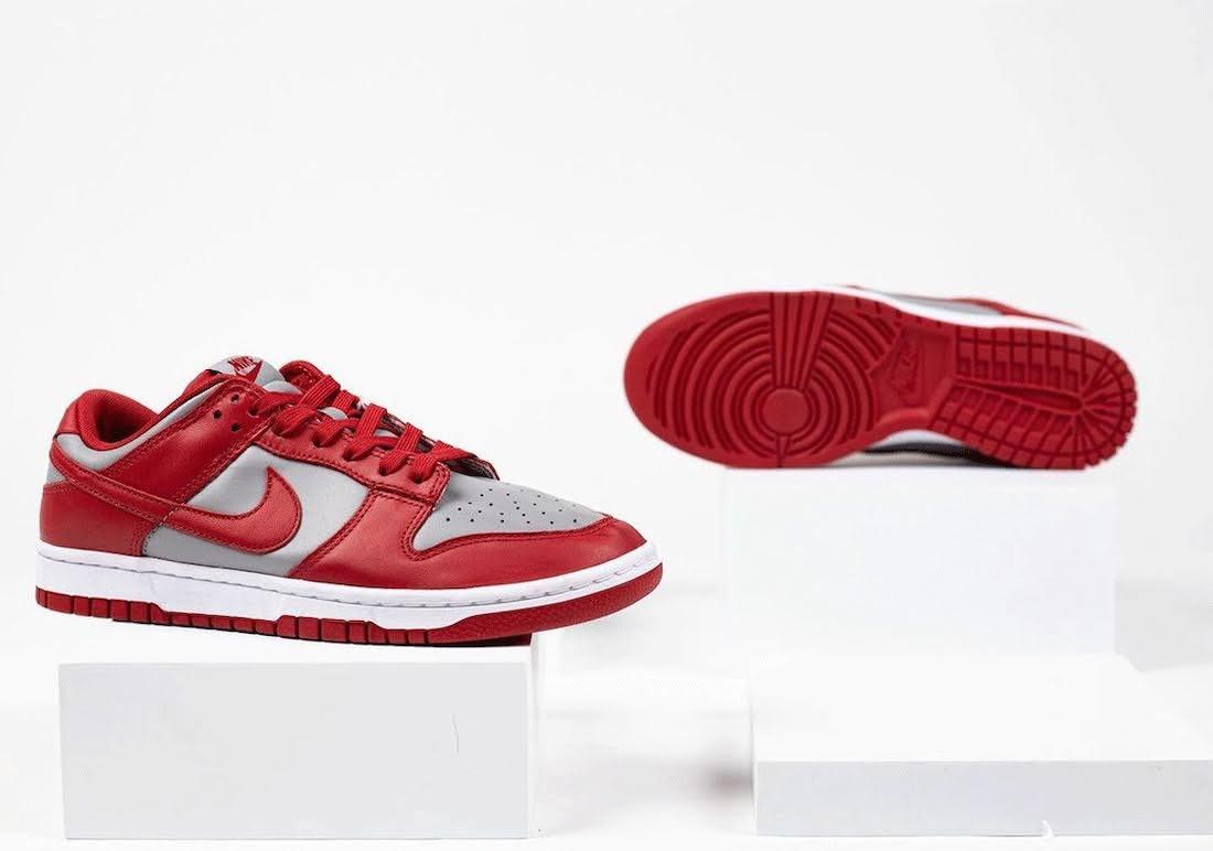 """ナイキ ダンク ロー """"UNLV""""-Nike-Dunk-Low-UNLV-DD1391-002-sole"""