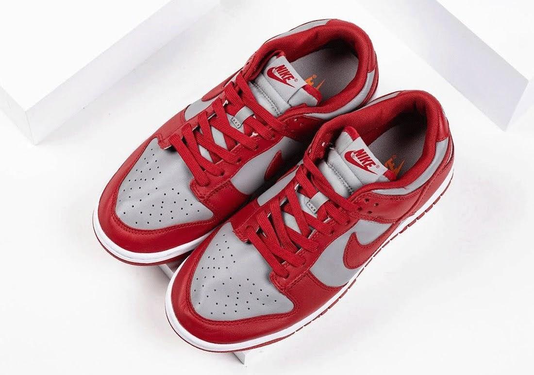 """ナイキ ダンク ロー """"UNLV""""-Nike-Dunk-Low-UNLV-DD1391-002-pair-top"""