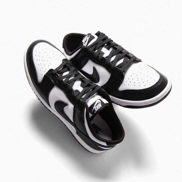 """ナイキ ウィメンズ ダンク ロー """"ホワイト/ ブラック"""" Nike-Dunk-Low-White-Black-DD1391-100-pair"""