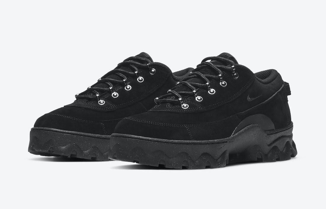 """ナイキ ウィメンズ ラハール ロー """"ブラック"""" Nike-Lahar-Low-Black-DB9953-001-pair"""
