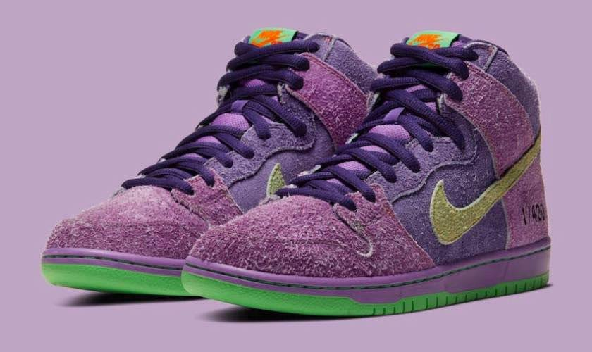Nike SB Dunk High Reverse Skunk 420(CW9971-500)-Nike-SB-Dunk-High-420-Purple-Skunk-CW9971-500