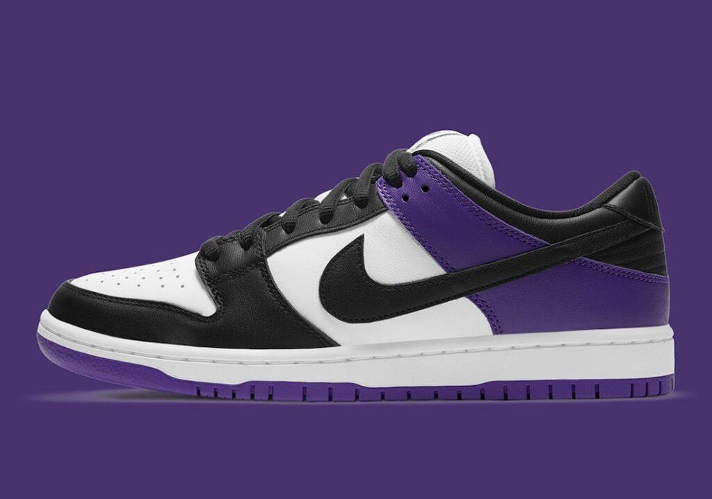 """ナイキ SB ダンク ロー """"コートパープル"""" Nike-SB-Dunk-Low-Court-Purple-BQ6817-500-side"""