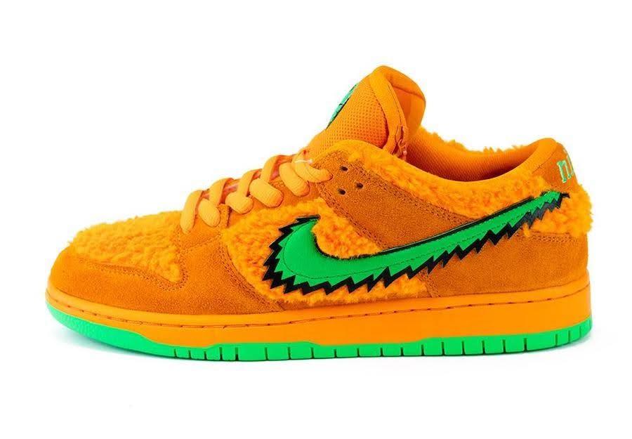 Nike SB Dunk Low Grateful Dead Bears Orange (CJ5378-800)-Nike-SB-Dunk-Low-Grateful-Dead-Orange-Bear-CJ5378-800