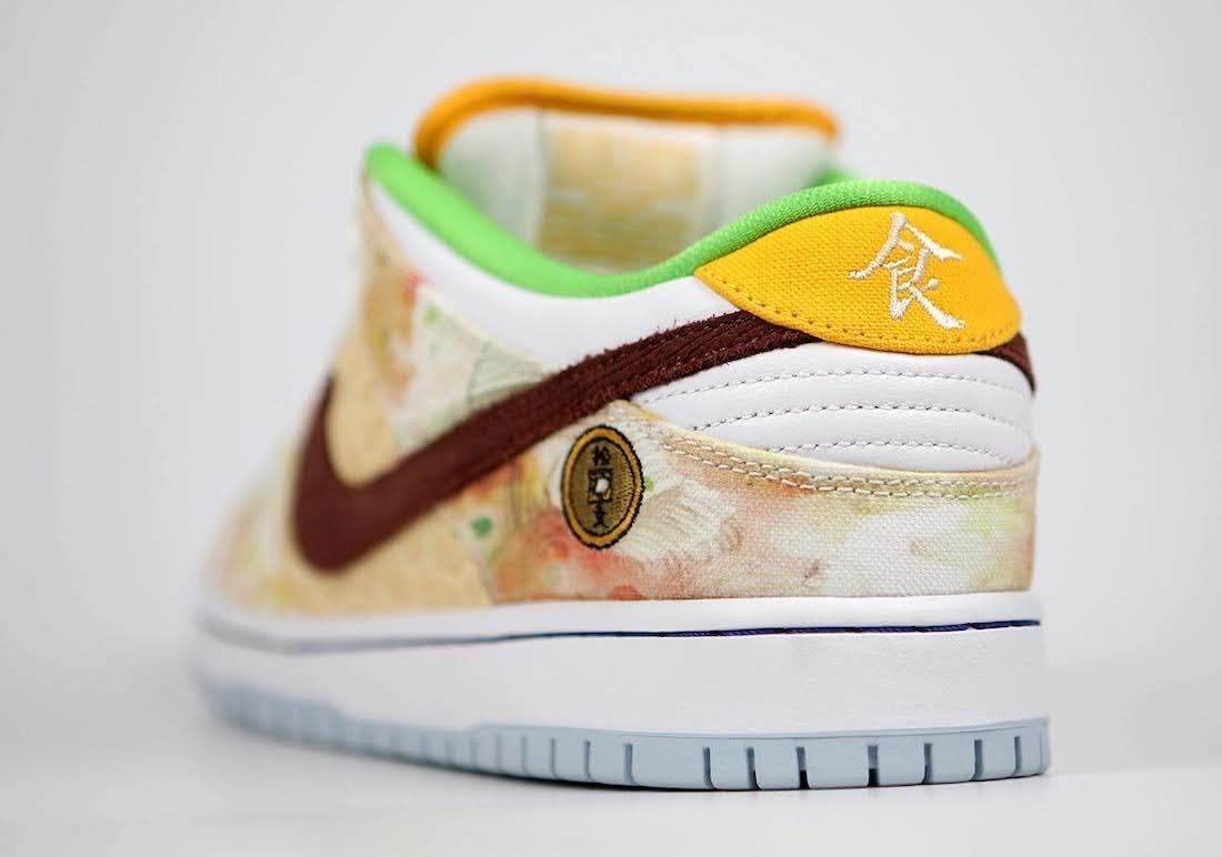 """ジェイソン デング x ナイキ SB ダンク ロー """"ストリート ホーカー"""" Jason-Deng-Nike-SB-Dunk-Low-Street-Hawker-CV1628-800-10-sole-left"""