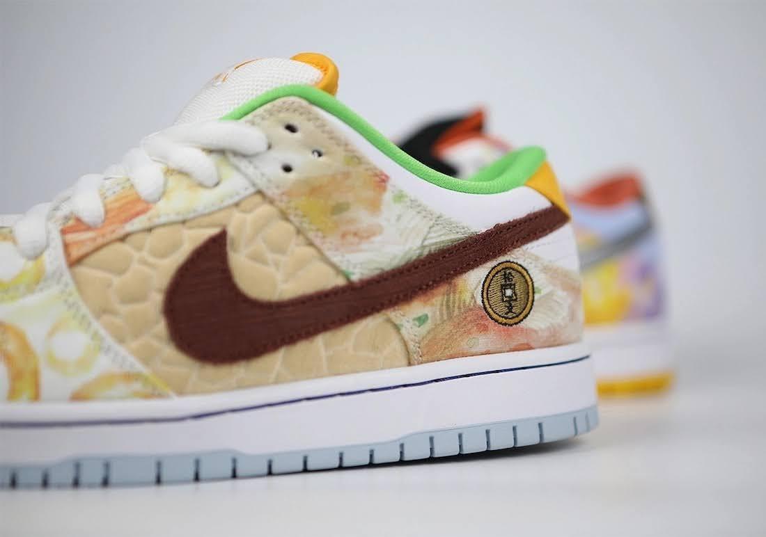 """ジェイソン デング x ナイキ SB ダンク ロー """"ストリート ホーカー"""" Jason-Deng-Nike-SB-Dunk-Low-Street-Hawker-CV1628-800-22-pair"""