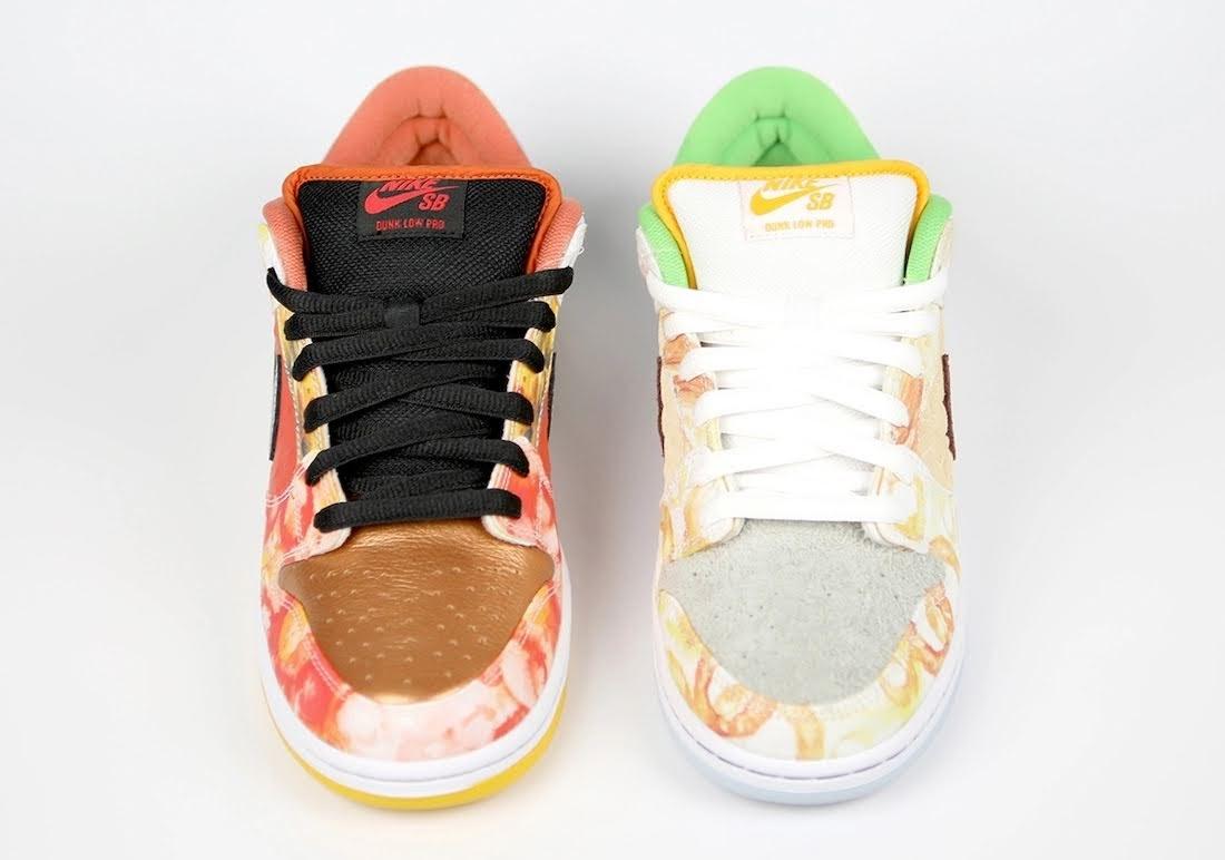 """ジェイソン デング x ナイキ SB ダンク ロー """"ストリート ホーカー"""" Jason-Deng-Nike-SB-Dunk-Low-Street-Hawker-CV1628-800-16-pair-front"""