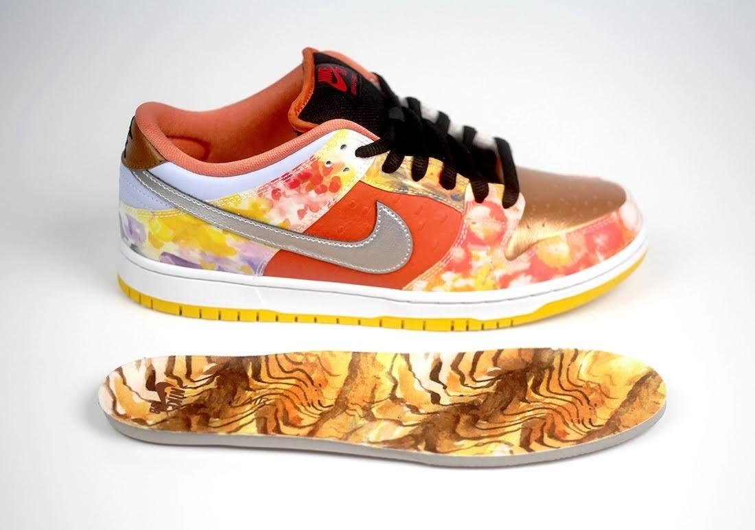 """ジェイソン デング x ナイキ SB ダンク ロー """"ストリート ホーカー"""" Jason-Deng-Nike-SB-Dunk-Low-Street-Hawker-CV1628-800-9-side-insole-right"""