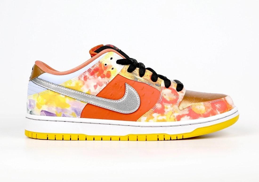 """ジェイソン デング x ナイキ SB ダンク ロー """"ストリート ホーカー"""" Jason-Deng-Nike-SB-Dunk-Low-Street-Hawker-CV1628-800-7-side-orange"""