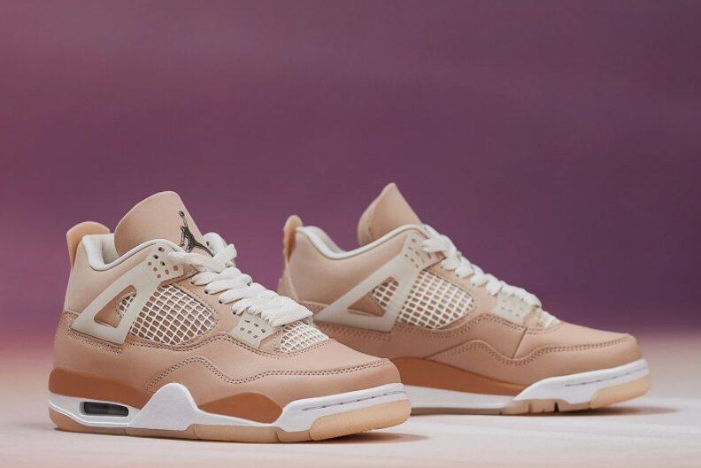 """9月3日発売【Nike WMNS Air Jordan 4Retro """"Shimmer""""】ナイキ ウィメンズ エア ジョーダン 4 レトロ """"シマー"""""""