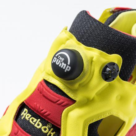 リーボック インスタポンプフューリー スニーカー 人気 REEBOK-CLASSIC-INSTAPUMP-FURY-PROTO-94-BLACK-RED-YELLOW-THE-PUMP-TECHNOLOGY