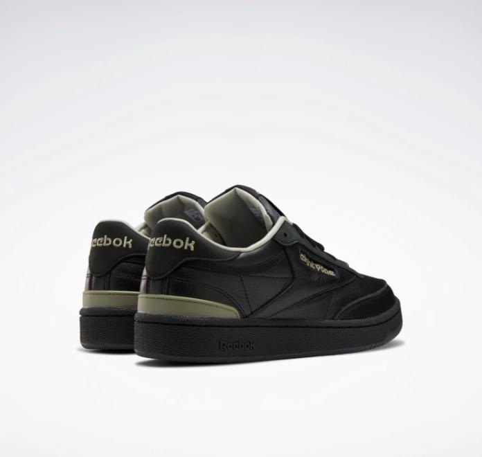 """リーボック クラブ C 85 """"エイティーワン"""" FY3017-Reebok-eightyone-e-Club-C-85-black-pair-heel"""