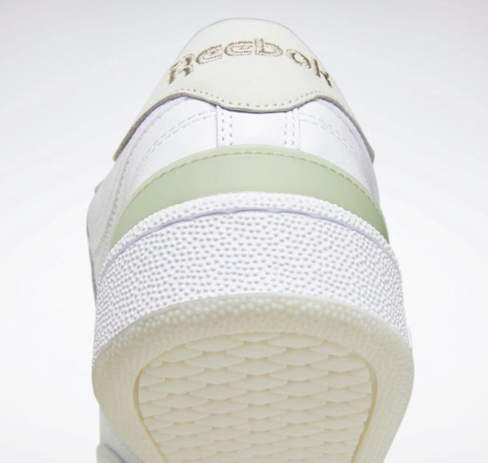 """リーボック クラブ C 85 """"エイティーワン"""" FY3016-Reebok-eightyone-e-Club-C-85-white-side-heel-closeup"""