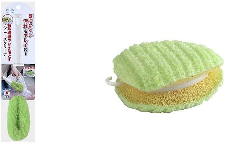 サンコー びっくりフレッシュ シューズクリーナー-five-sneaker-washing-brush-Sanko-BO-82-Shoe-Brush