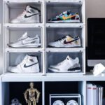 スニーカー 収納 方法 おすすめ ボックス 箱 棚 Sneaker storage box ideas display