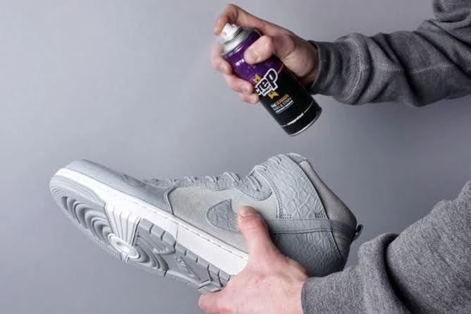 スニーカー 防水 スプレー クレップ ウォータープルーフ Sneaker-waterproof-spray-Crep