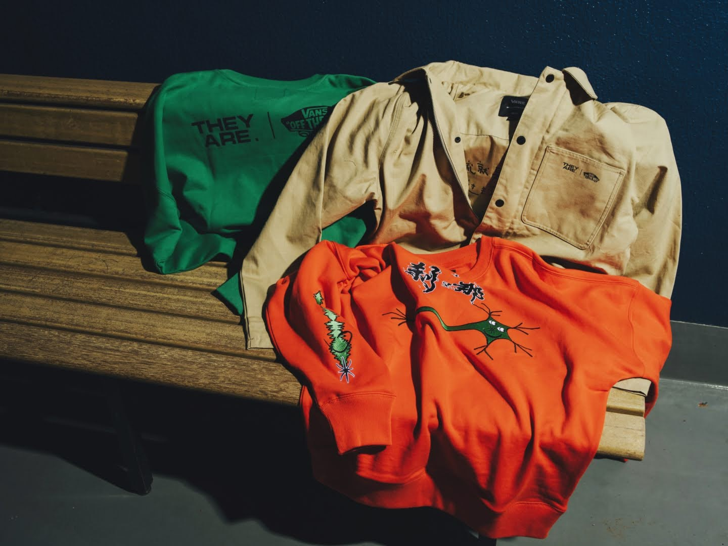"""VANS × THEY ARE """"THE YEAR OF THE OX"""" Collection】バンズ × ゼイ アー """"ザ イヤー オブ ザ OX"""" コレクション apparel main"""