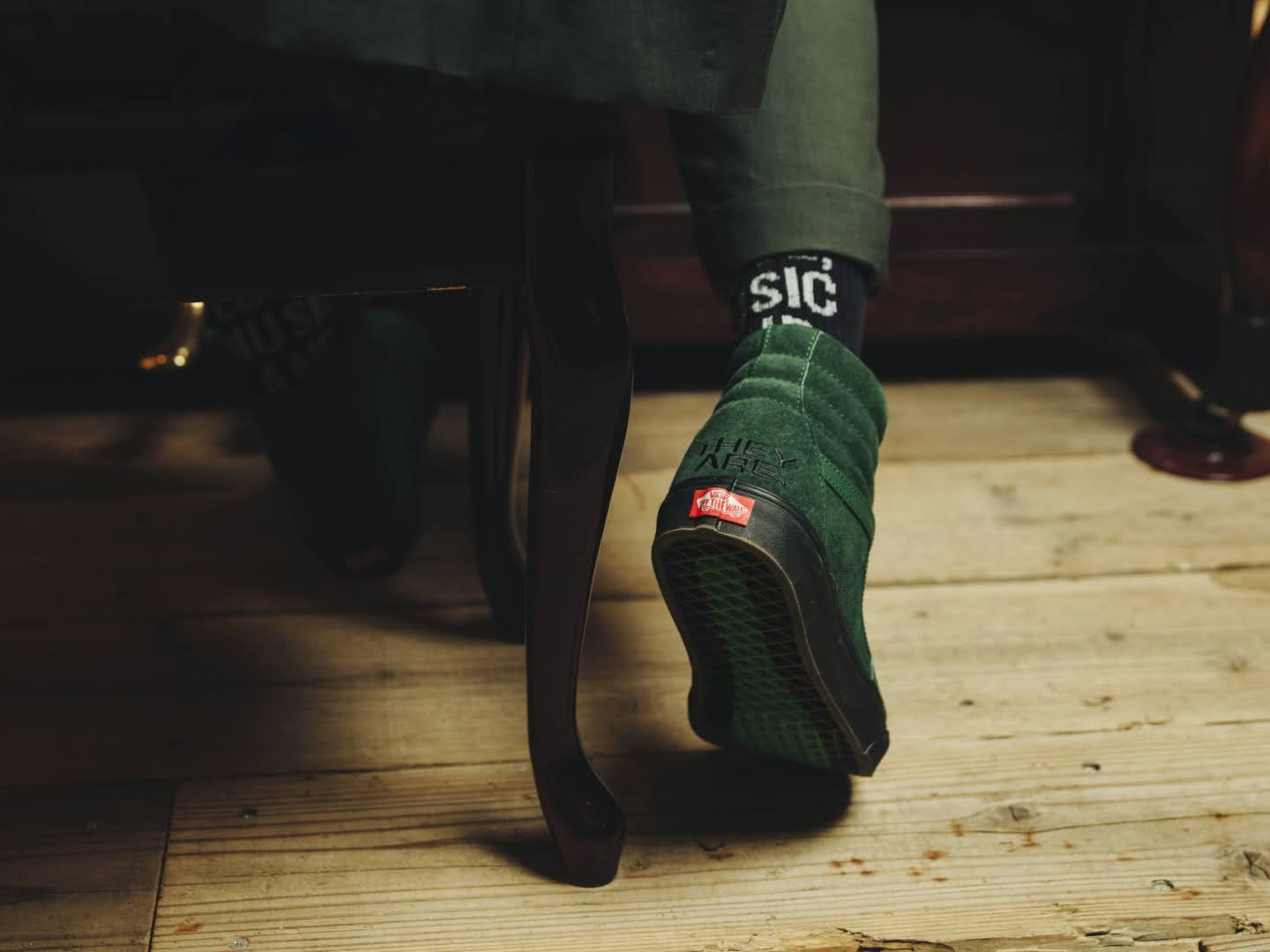 """VANS × THEY ARE """"THE YEAR OF THE OX"""" Collection】バンズ × ゼイ アー """"ザ イヤー オブ ザ OX"""" コレクション sneakers green"""