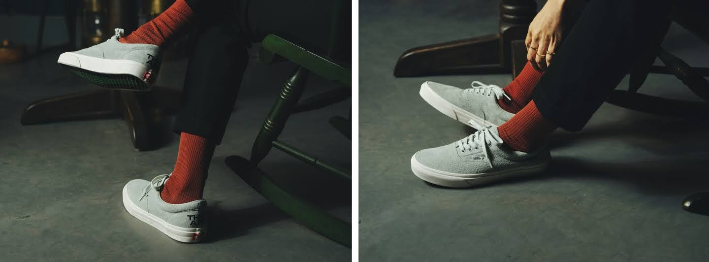 """VANS × THEY ARE """"THE YEAR OF THE OX"""" Collection】バンズ × ゼイ アー """"ザ イヤー オブ ザ OX"""" コレクション sneakers white image"""