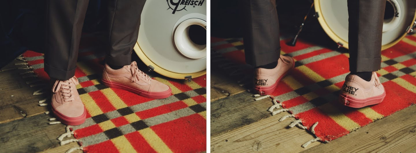 """VANS × THEY ARE """"THE YEAR OF THE OX"""" Collection】バンズ × ゼイ アー """"ザ イヤー オブ ザ OX"""" コレクション sneakers pink image"""