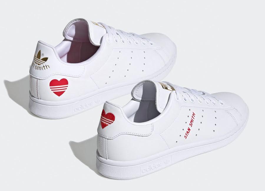 アディダス スタンスミス バレンタイン ハート 2020年 スニーカー adidas-Stan-Smith-Valentines-Day-FW6390-FV8260