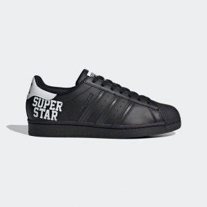 adidas スーパースター-black-ladies-sneakers-winter-style-adidas-originals-superstar-FV2814