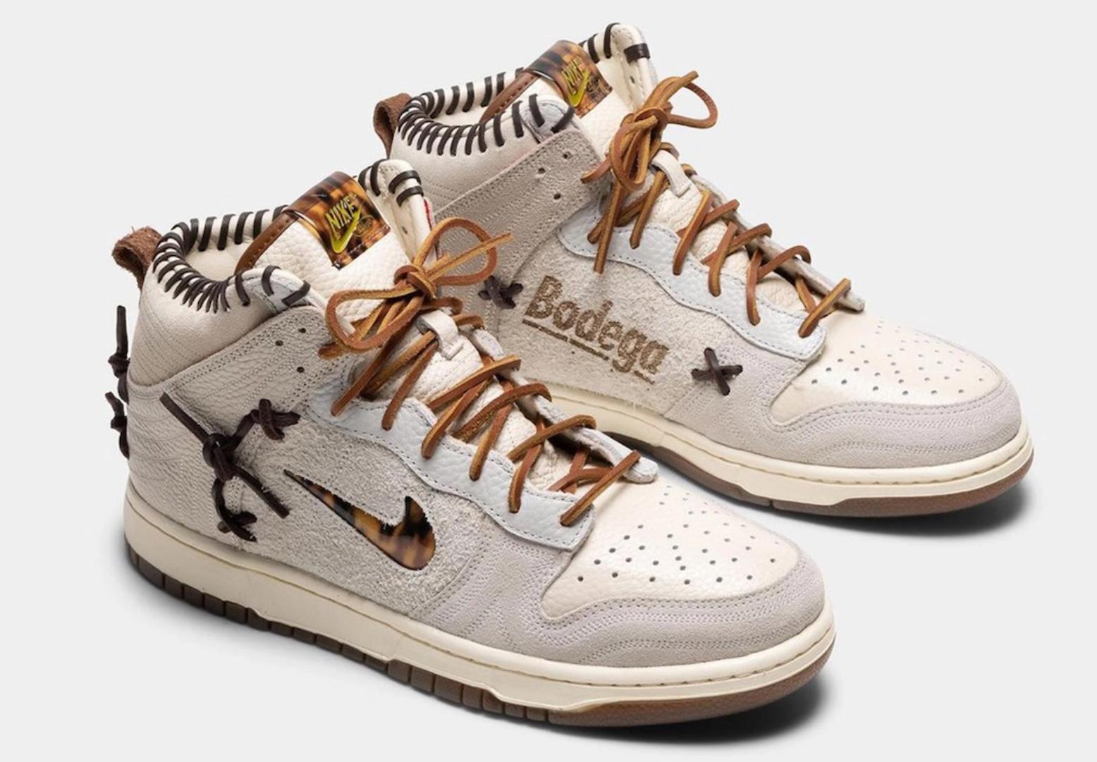 ボデガ × ナイキ ダンク ハイ Bodega-Nike-Dunk-High-Fauna-Brown-Rustic-Velvet-Brown-Multi-Color-CZ8125-200 CZ8125-200 ff