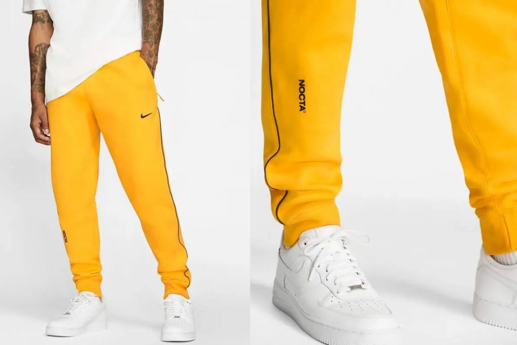 ドレイク x ナイキ NOCTA コレクション-drake-nike-nocta-apparel-collection-release-date-price-collaboration-sweat-pants-yellow