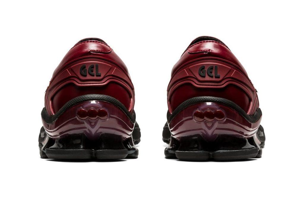 ゲーエムベーハー × アシックス ゲル チャパル GmbH × Asics GEL-Chappal-BeetJuice-1201A098-600-pair-heel