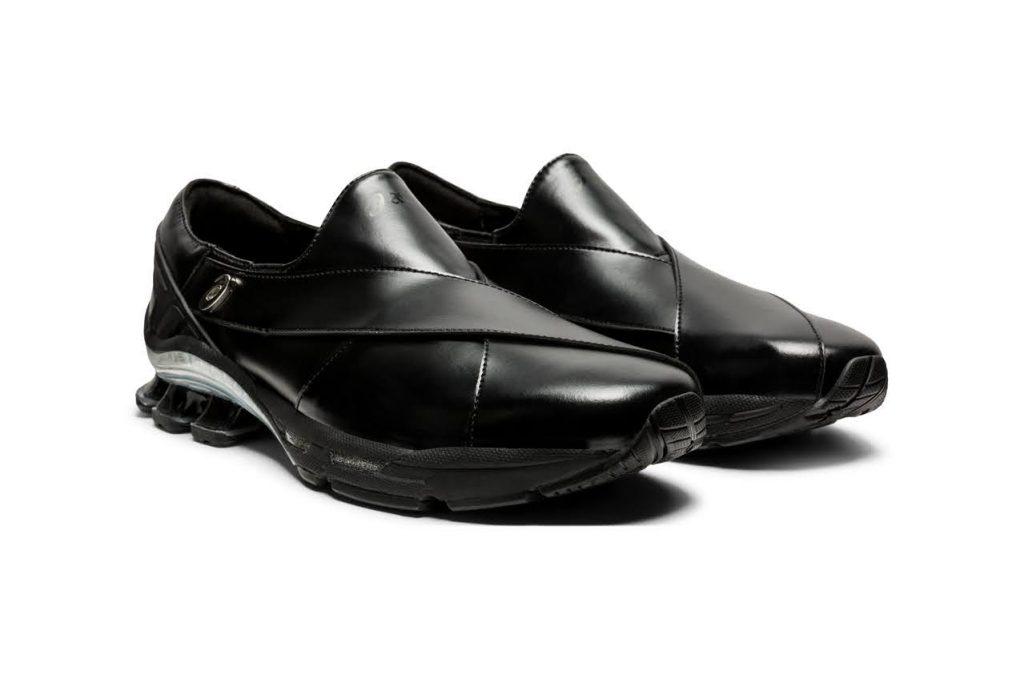 ゲーエムベーハー × アシックス ゲル チャパル GmbH × Asics GEL-Chappal-black-1201A098-001-pair