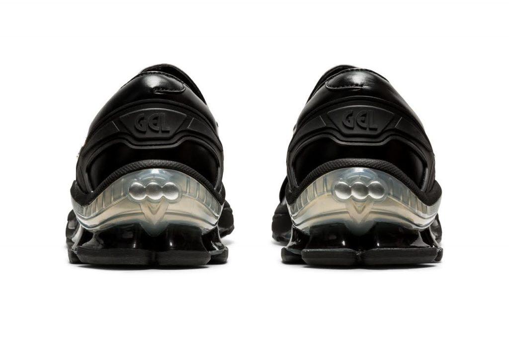 ゲーエムベーハー × アシックス ゲル チャパル GmbH × Asics GEL-Chappal-black-1201A098-001-pair-heel