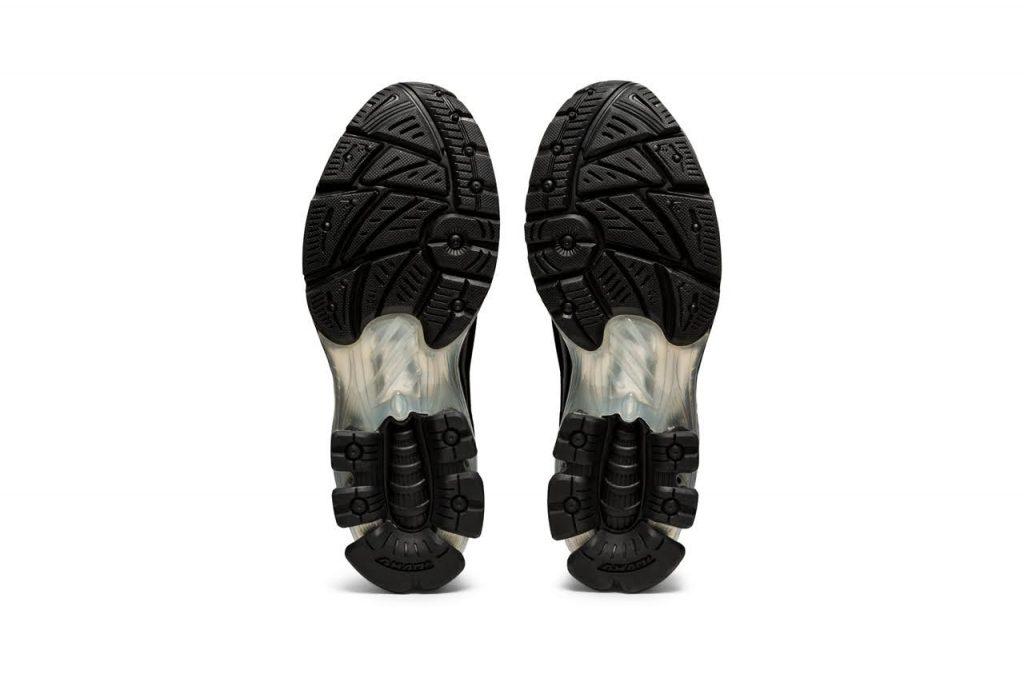 ゲーエムベーハー × アシックス ゲル チャパル GmbH × Asics GEL-Chappal-black-1201A098-001-pair-sole