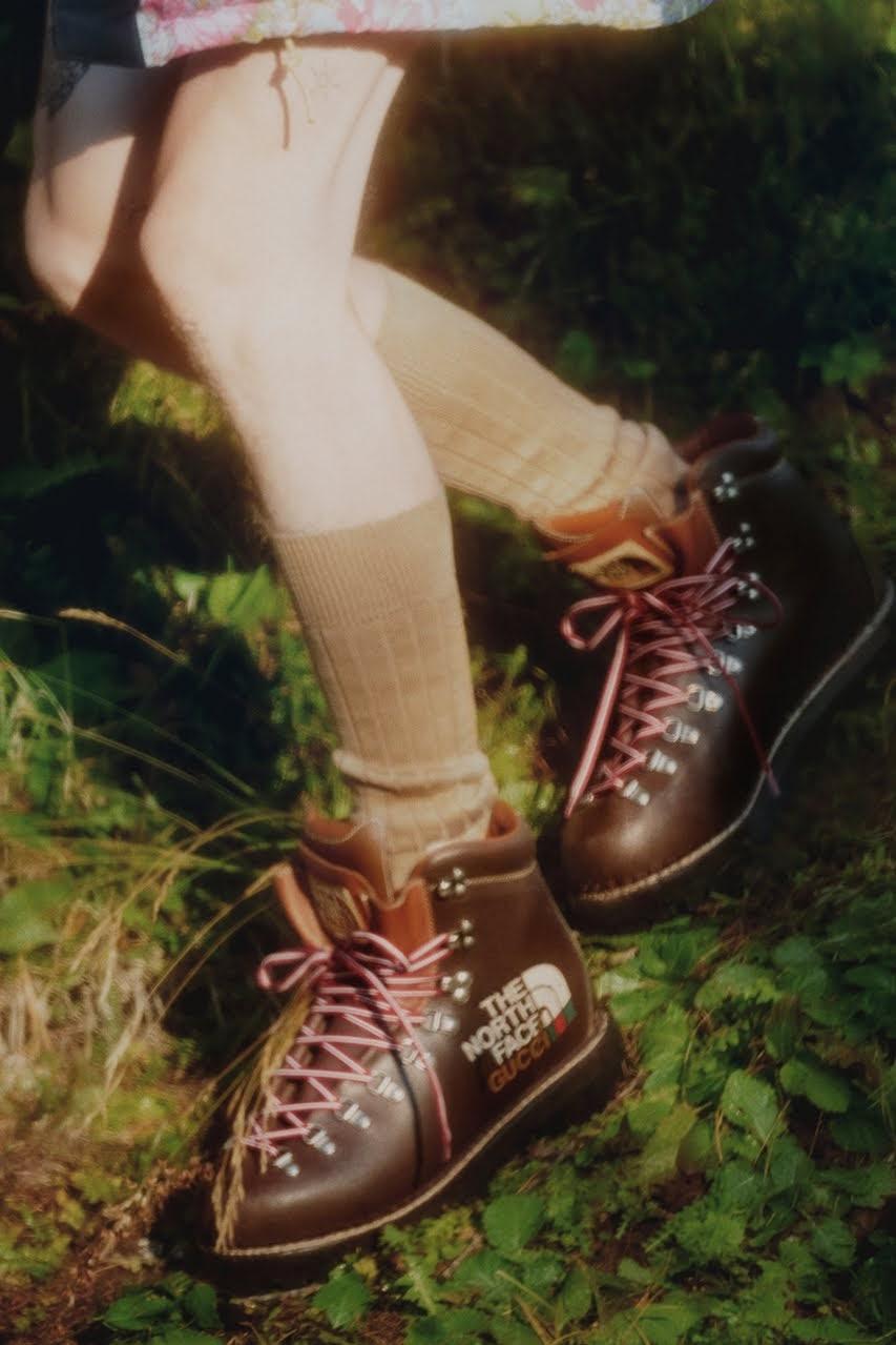 ザ ノース フェイス x グッチ コレクション gucci-the-north-face-collection-21-boots