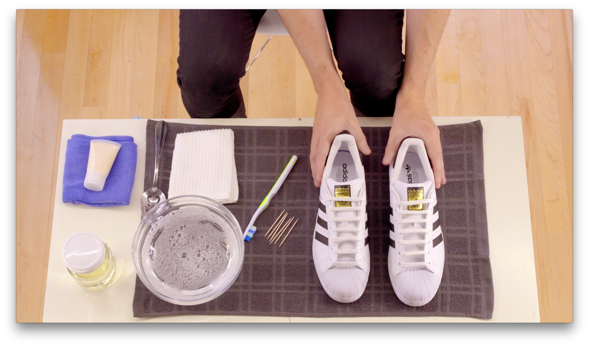 スニーカー 洗い方 ケア 方法 おすすめ アディダス how-to-clean-your-sneakers-wash-guide adidas us