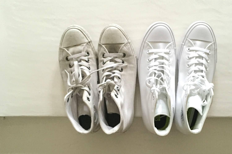 スニーカー 洗い方 ケア 方法 キャンバスhow-to-clean-your-sneakers-wash-guide