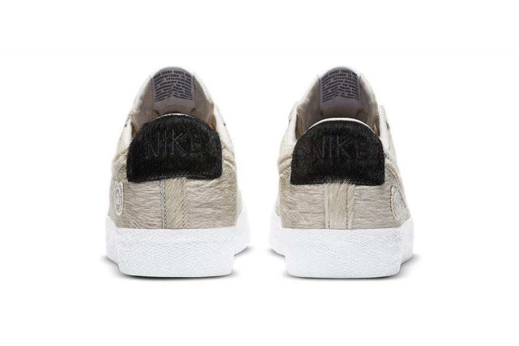 """メディコム トイ × ナイキ SB ブレーザー ロー """"ベアブリック""""-medicom-toy-nike-sb-blazer-low-bearbrick-cz4620-200-heel"""