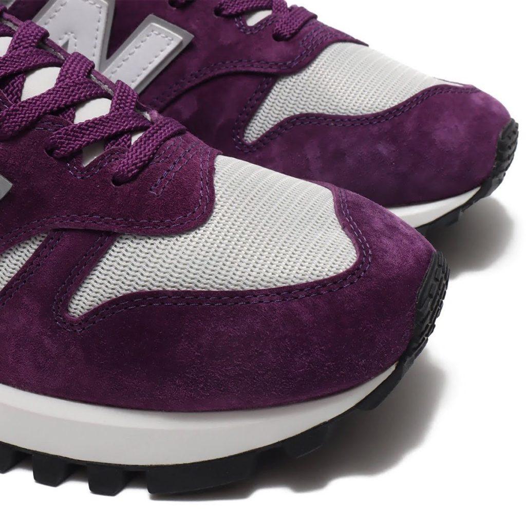ニューバランス MS1300/ パープル new-balance-purple-toe-closeup