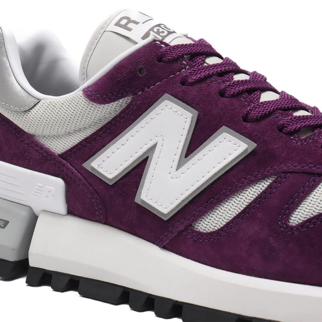ニューバランス MS1300/ パープル new-balance-purple-logo