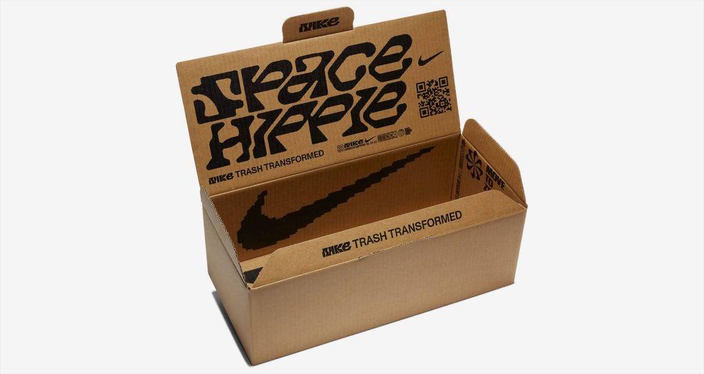 """ナイキ ウィメンズ スペースヒッピー 04 """"カクタスフラワー"""" nike-04-this-is-trash-w-nike-space-hippie-04-cd3476-500-box"""